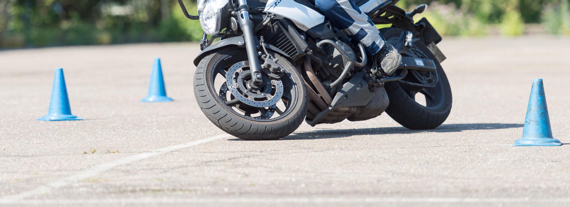 Motorrijbewijspoint Sittard-Geleen rijtest